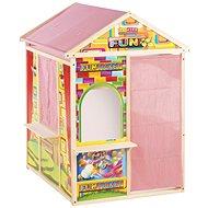 LetsPlay Hrací domeček, dřevěný, 120x90x84 cm