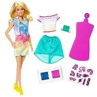 Barbie D.I.Y. Crayola s módním potiskem Běloška