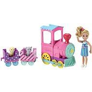Barbie Chelsea s vláčkem