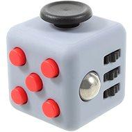 Apei Fidget Cube Šedý/Červený