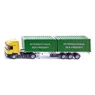 Siku Super - LKW kamion se 2 kontejnery