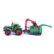 Siku Super - Traktor se štěpkovačem
