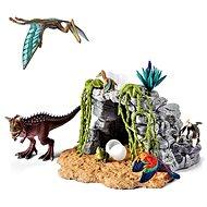 Schleich Dinosauři v jeskyni, hrací set