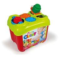 Clementoni Clemmy baby - Aktivní kyblík s prostrkávacími tvary