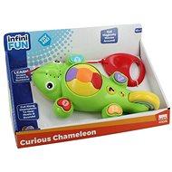 Zvukový chameleon - tahací