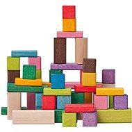 Woody Kostky barevné, FSC 50 dílů