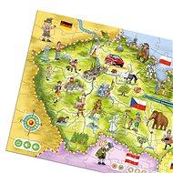 Kouzelné Čtení - Puzzle Česká republika
