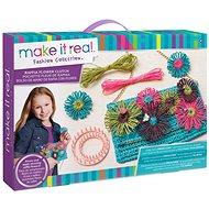 Make It Real Květinová taška z rafie