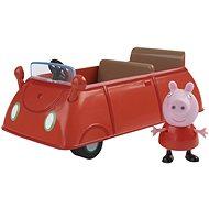 Prasátko Peppa - Rodinné auto + figurka