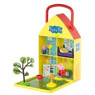 Peppa Pig - Domeček se zahrádkou + figurka a příslušenství
