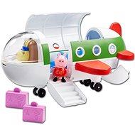 Prasátko Peppa - Letadlo + figurka