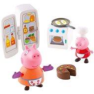 Peppa Pig - Kuchyňská sada + 2 figurky