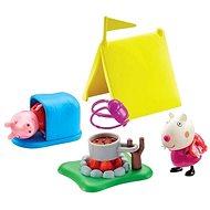 Peppa Pig - Kempingová sada + 2 figurky
