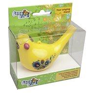 Zpívající vodní ptáček Aqua Bird III žlutý