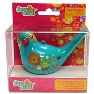 Zpívající vodní ptáček Aqua Bird III tyrkysový