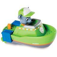 Tlapková patrola Plavající figurky Rocky ve člunu