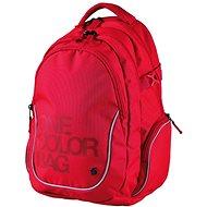 Batoh Teen One Colour červený