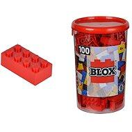 Simba Blox 100 Kostičky červené v boxu