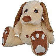 Pes Pupík béžový 120cm