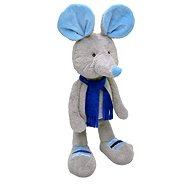 Myška Alfi šedo–modrá 65cm