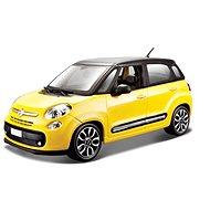Bburago Fiat 500L žlutý