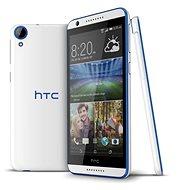 HTC Desire 620 Gloss White/Blue Trim