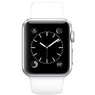 Apple Watch Sport 38mm Stříbrný hliník s bílým řemínkem
