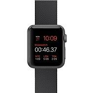 Apple Watch Sport 38mm Vesmírně šedý hliník s černým řemínkem z tkaného nylonu