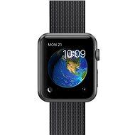 Apple Watch Sport 42mm Vesmírně šedý hliník s černým řemínkem z tkaného nylonu