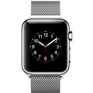 Apple Watch 38mm Nerez ocel s milánským tahem
