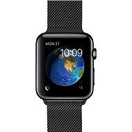 Apple Watch 38mm Vesmírně černá nerez ocel s vesmírně černým milánským tahem