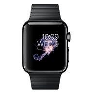 Apple Watch 38mm Vesmírně černá ocel s vesmírně černým článkovým tahem