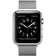 Apple Watch 42mm Nerez ocel s milánským tahem