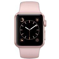 Apple Watch Series 1 38mm Růžově zlatý hliník s pískově růžovým sportovním řemínkem