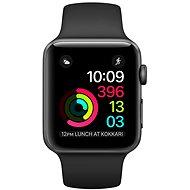 Apple Watch Series 1 38mm Vesmírně šedý hliník s černým sportovním řemínkem