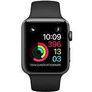 Apple Watch Series 1 42mm Vesmírně šedý hliník s černým sportovním řemínkem