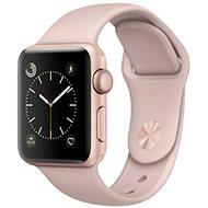 Apple Watch Series 1 42mm Růžově zlatý hliník s pískově růžovým sportovním řemínkem