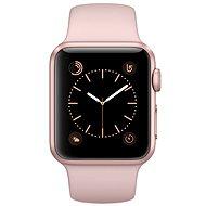 Apple Watch Series 2 38mm Růžově zlatý hliník s pískově růžovým sportovním řemínkem