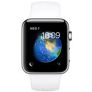 Apple Watch Series 2 38mm Nerezová ocel s bílým sportovním řemínkem
