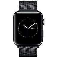 Apple Watch Series 2 38mm Vesmírně černá nerezová ocel s vesmírně černým milánským tahem