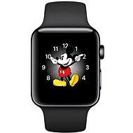 Apple Watch Series 2 38mm Vesmírně černá nerezová ocel s vesmírně černým sportovním řemínkem