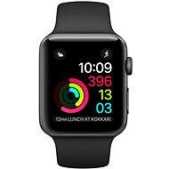 Apple Watch Series 2 42mm Vesmírně šedý hliník s černým sportovním řemínkem