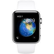 Apple Watch Series 2 42mm Nerezová ocel s bílým sportovním řemínkem