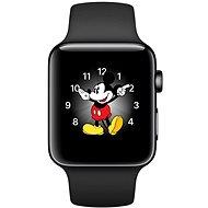 Apple Watch Series 2 42mm Vesmírně černá nerezová ocel s vesmírně černým sportovním řemínkem