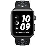 Apple Watch Nike+ 38mm Vesmírně šedý hliník s černým / chladně šedým sportovním řemínkem Nike