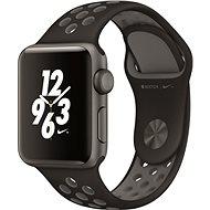 Apple Watch Series 2 Nike+ 38mm Vesmírně šedý hliník s antracitově černým sportovním řemínkem Nike