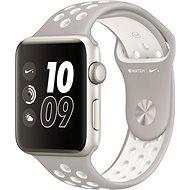 Apple Watch Series 2 Nike+ 38mm Stříbrný hliník s platinově bílým sportovním řemínkem Nike