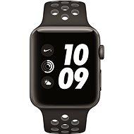 Apple Watch Series 2 Nike+ 42mm Vesmírně šedý hliník s antracitově černým sportovním řemínkem Nike
