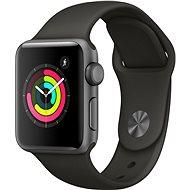Apple Watch Series 3 38mm GPS Vesmírně šedý hliník s šedým sportovním řemínkem