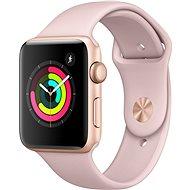 Apple Watch Series 3 42mm GPS Zlatý hliník s pískově růžovým sportovním řemínkem